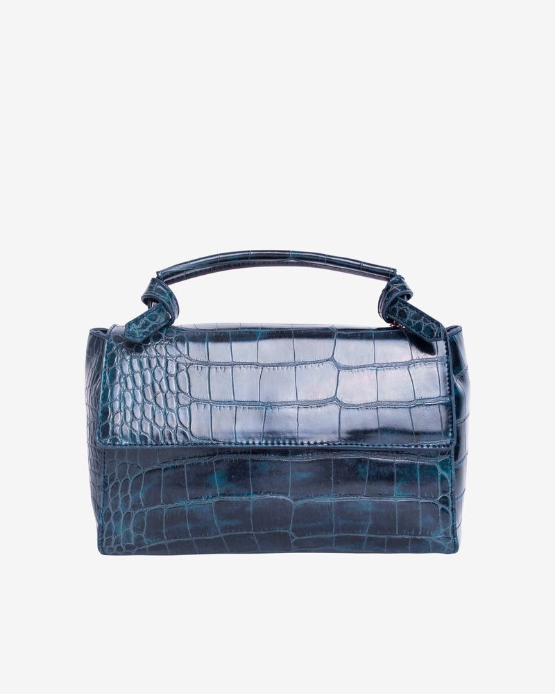 Hvisk GANNET CROCO Handle Bag 107 Night Sky