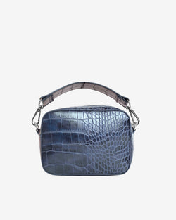 Hvisk GLAZE CROCO Crossbody 107 Night Sky