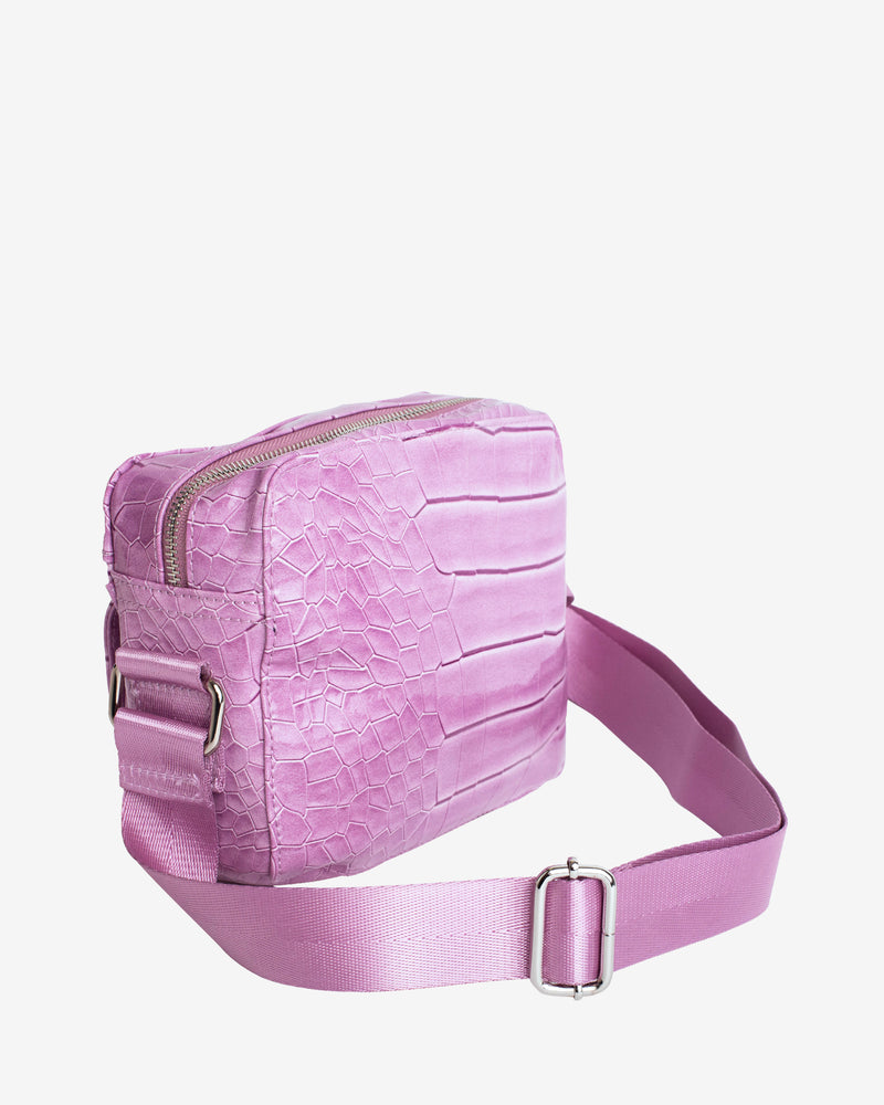 Hvisk HALLI CROCO Crossbody 016 Dusty Pink