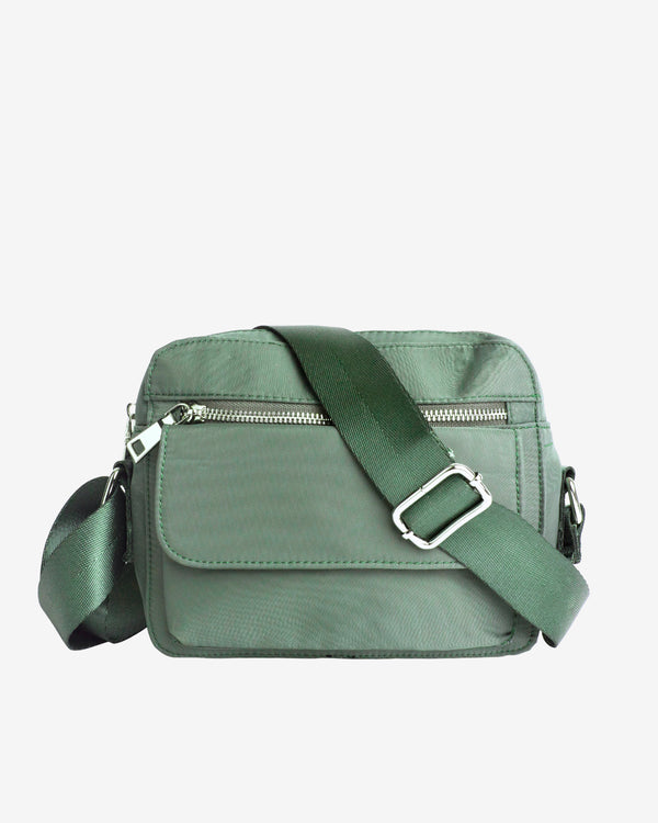 Hvisk HALLI NYLON Crossbody 002 Dusty Green