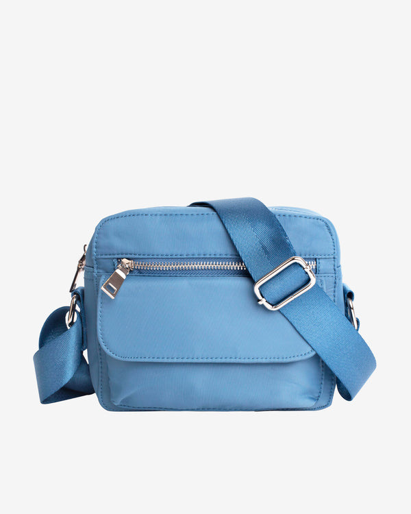 Hvisk HALLI NYLON Crossbody 071 Dusty Blue
