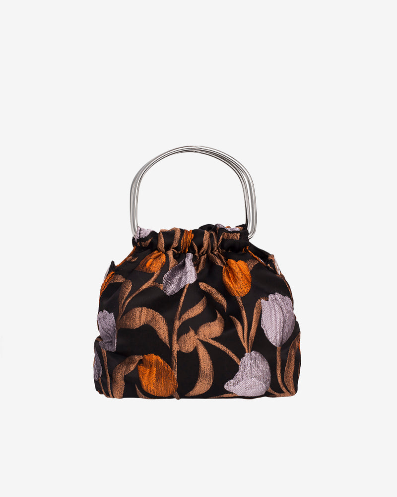 Hvisk JOLLY FLOWER Handle Bag 009 Black