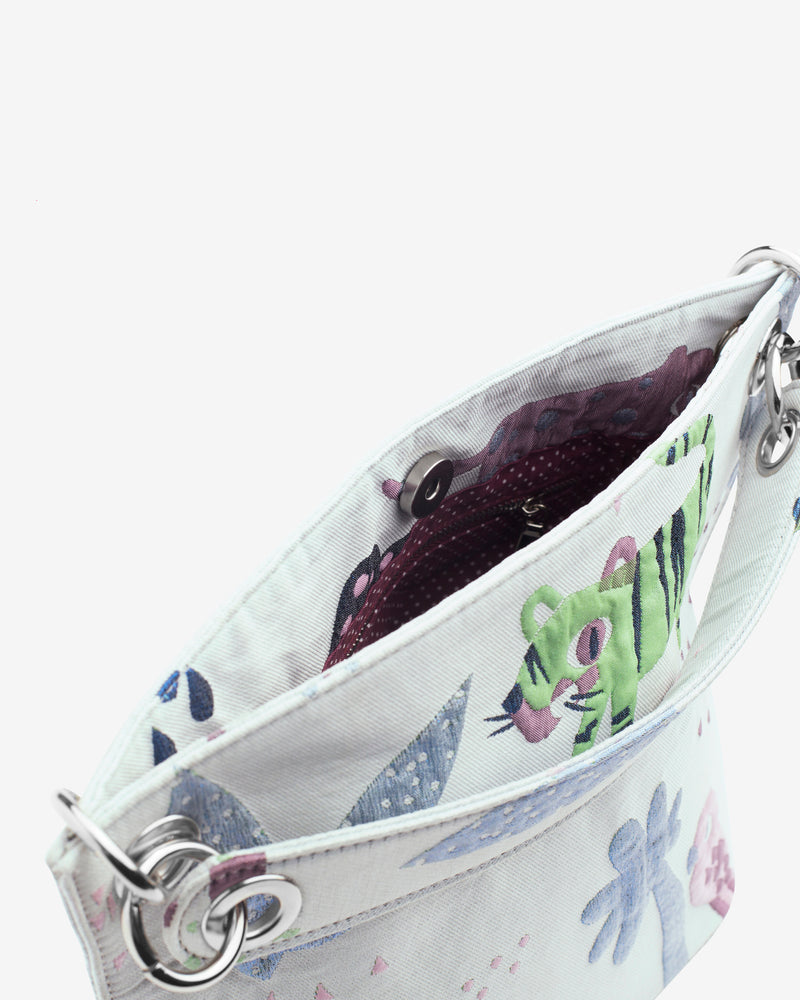 Hvisk NEAT JUNGLE Handle Bag 062 Light Purple