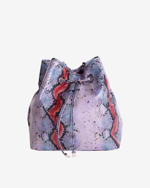 Hvisk NELLISH SNAKE Bucket Bag 008 Purple