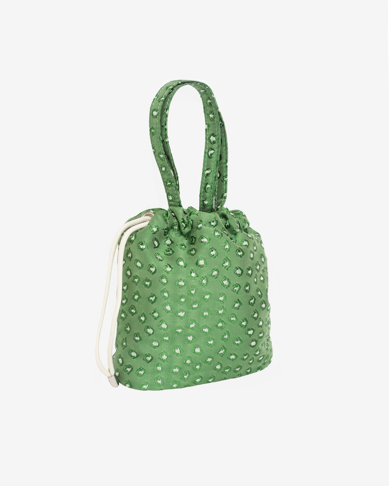 Hvisk POUCH ALGAE Handle Bag 010 Green