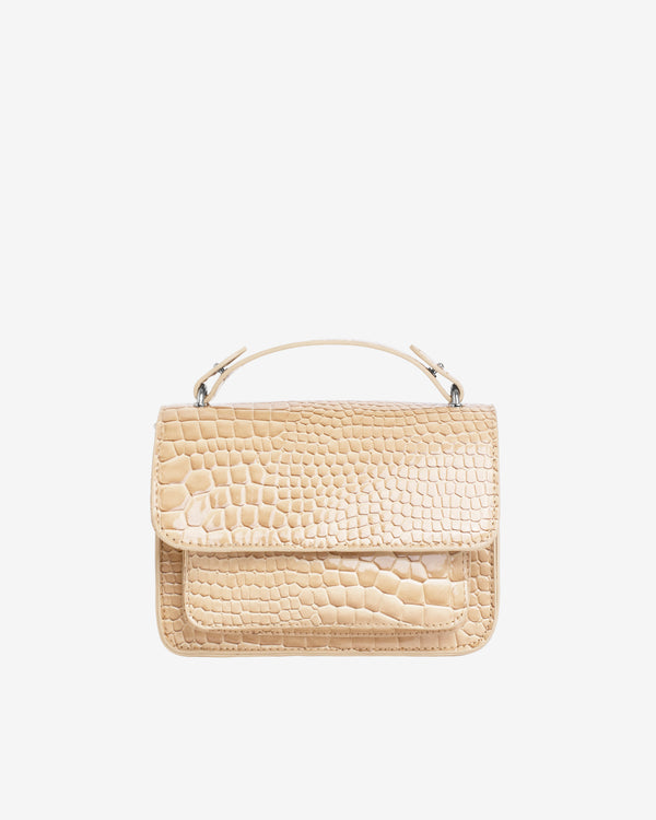 Hvisk RENEI CROCO Crossbody 122 Light Beige