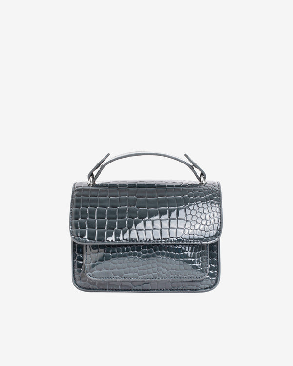 Hvisk RENEI CROCO Crossbody 123 Grey Dark