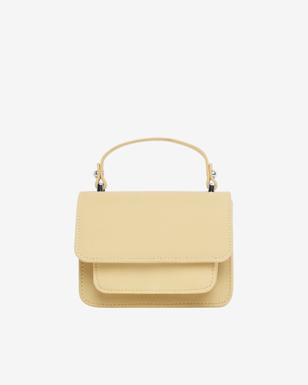 Hvisk RENEI RESPONSIBLE Handle Bag 128 Pastel Yellow