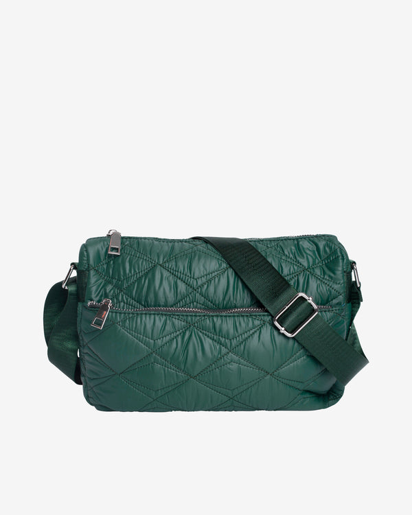 Hvisk TERRA QUILTED SEA Crossbody 010 Green