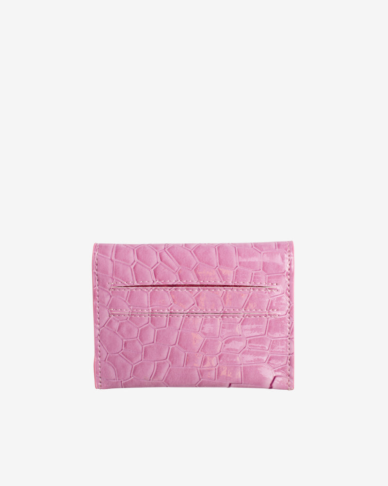 Hvisk WALLET CROCO Wallet 016 Dusty Pink