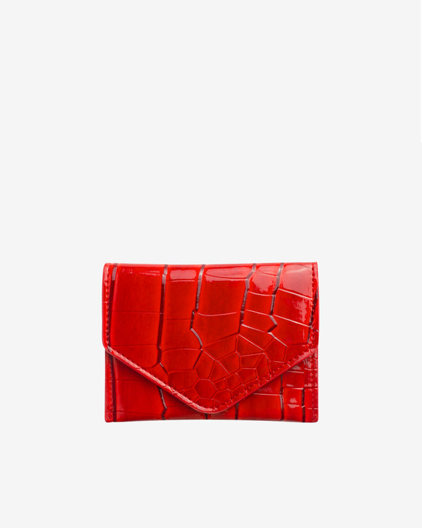 Hvisk WALLET CROCO Wallet 019 Red