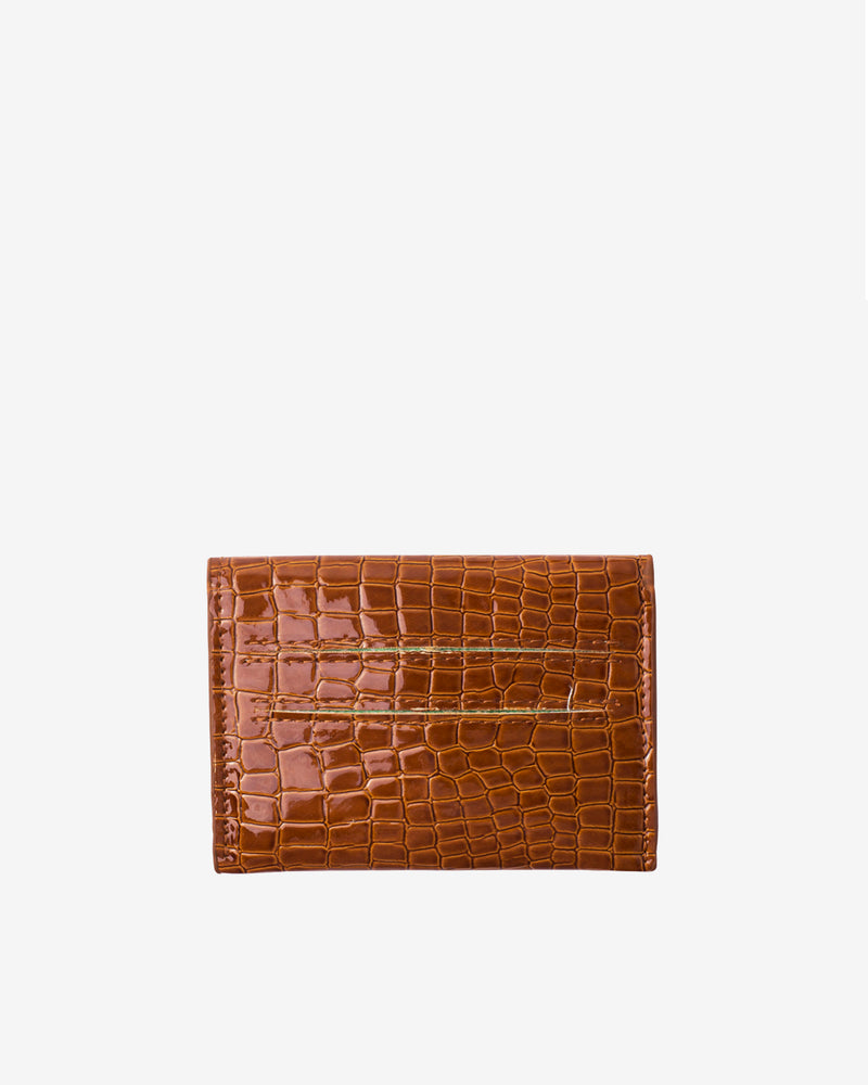Hvisk WALLET CROCO Wallet 079 Chocolate