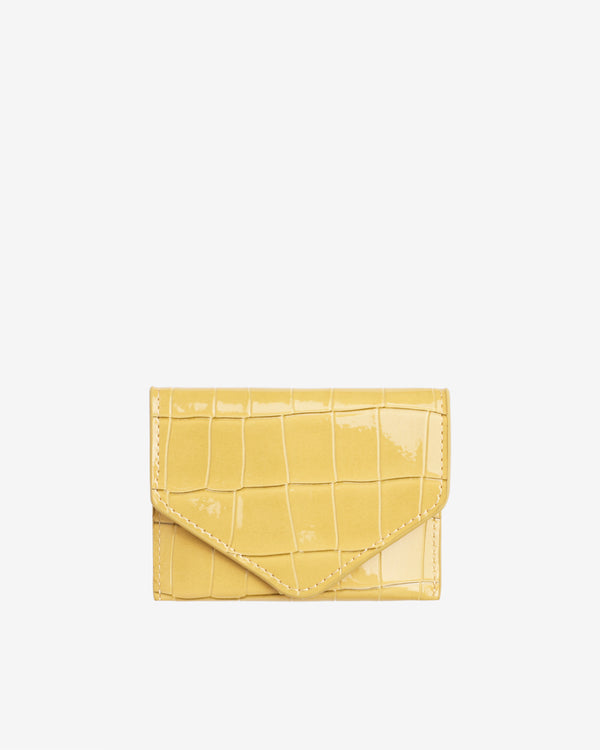 Hvisk WALLET CROCO Wallet 109 Sunkissed Yellow
