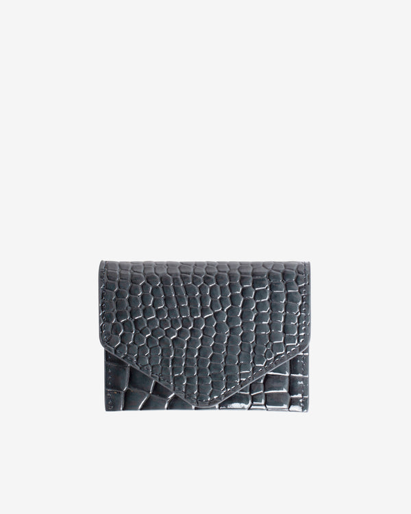 Hvisk WALLET CROCO Wallet 123 Grey Dark