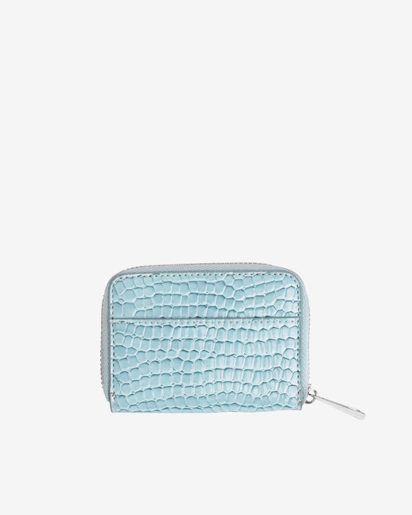 Hvisk WALLET ZIPPER CROCO Wallet 001 Baby Blue