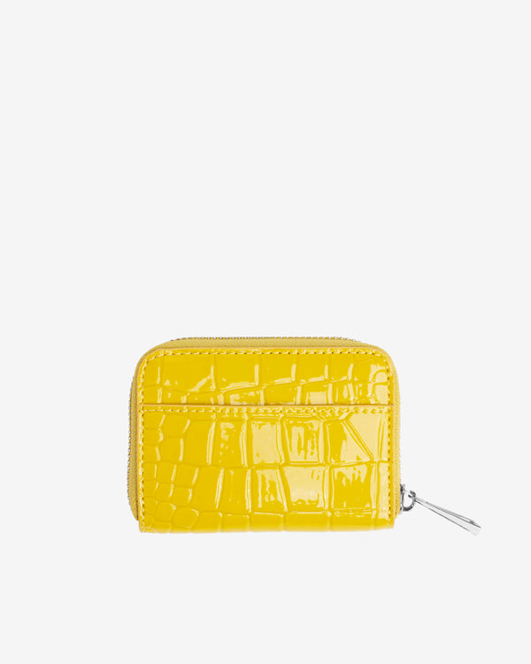 Hvisk WALLET ZIPPER CROCO Wallet 018 Yellow