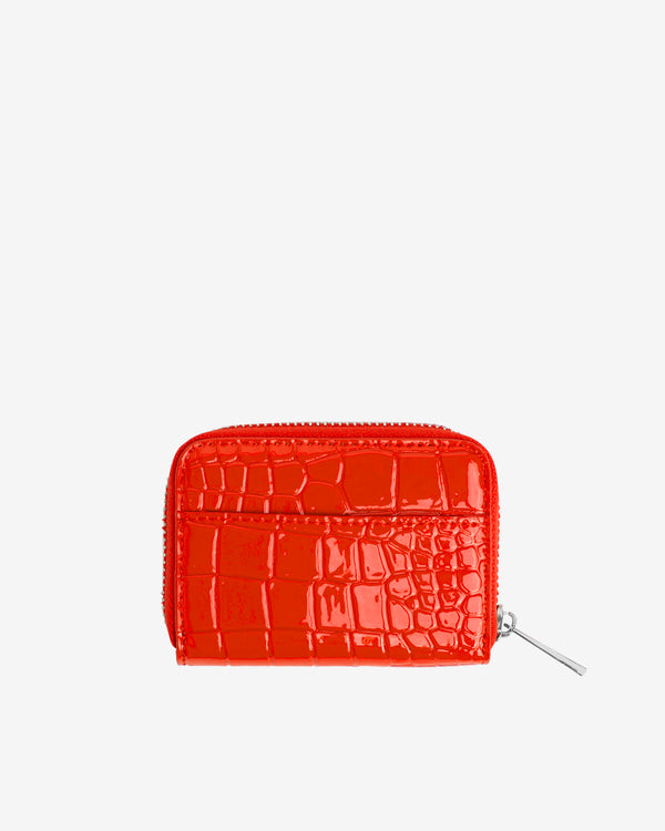 Hvisk WALLET ZIPPER CROCO Wallet 019 Red