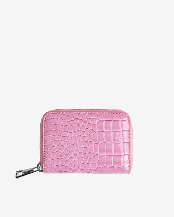 Hvisk WALLET ZIPPER CROCO Wallet 067 Pastel Purple