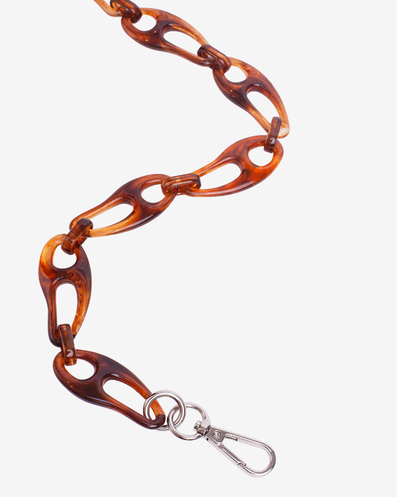 Hvisk WAVY CHAIN HANDLE Strap 078 Burgundy