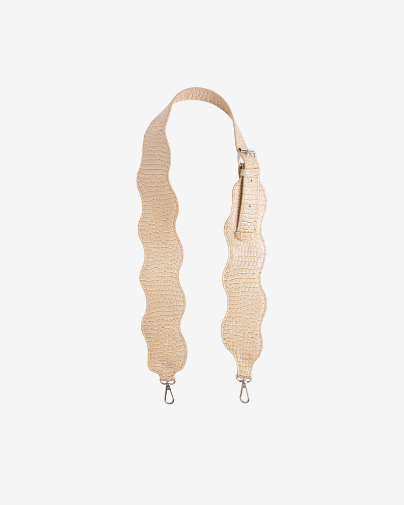 Hvisk WAVY HANDLE LONG Strap 122 Light Beige