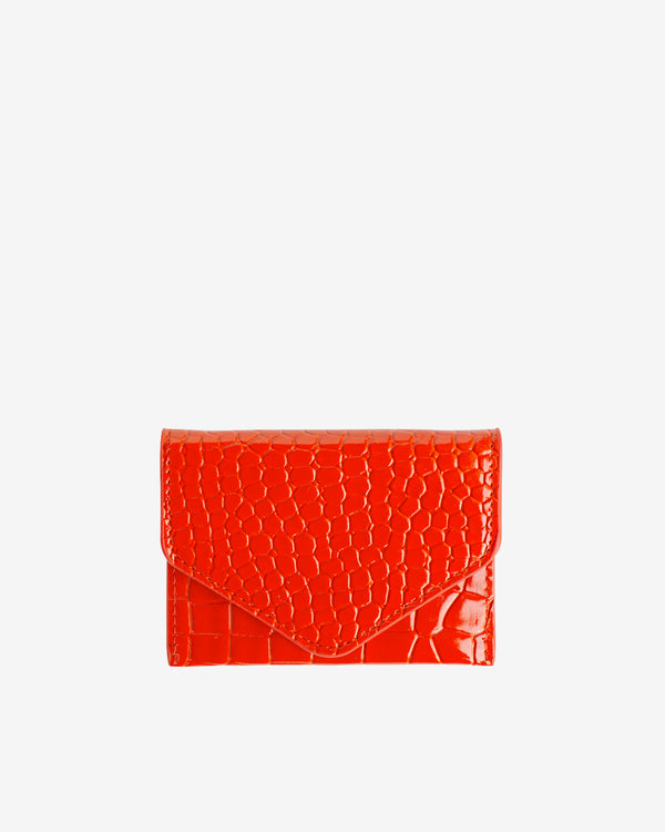 Hvisk WALLET CROCO Wallet 118 Orange/red