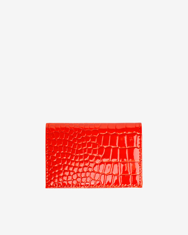 Hvisk WALLET FOLDED CROCO Wallet 118 Orange/red