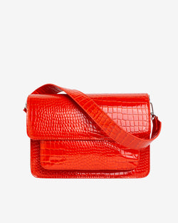 Hvisk BASEL CROCO Crossbody 118 Orange/red