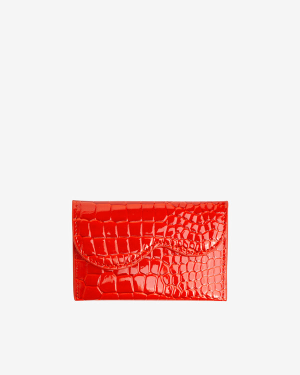 Hvisk WALLET WAVY CROCO Wallet 118 Orange/red