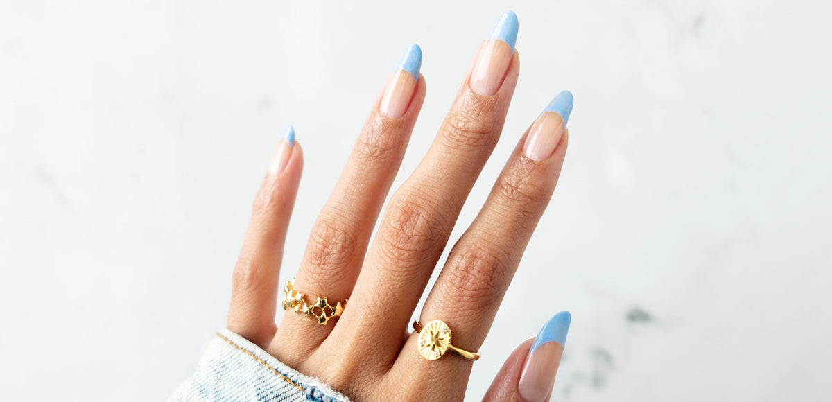 The Overglow Edit nail art tutorial: Skinny Dip Tips