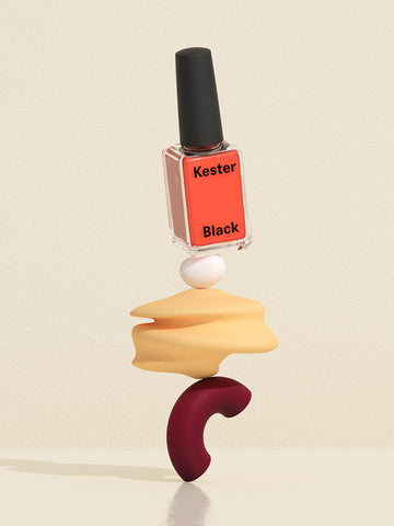 Kester Black vegan nail polish orange
