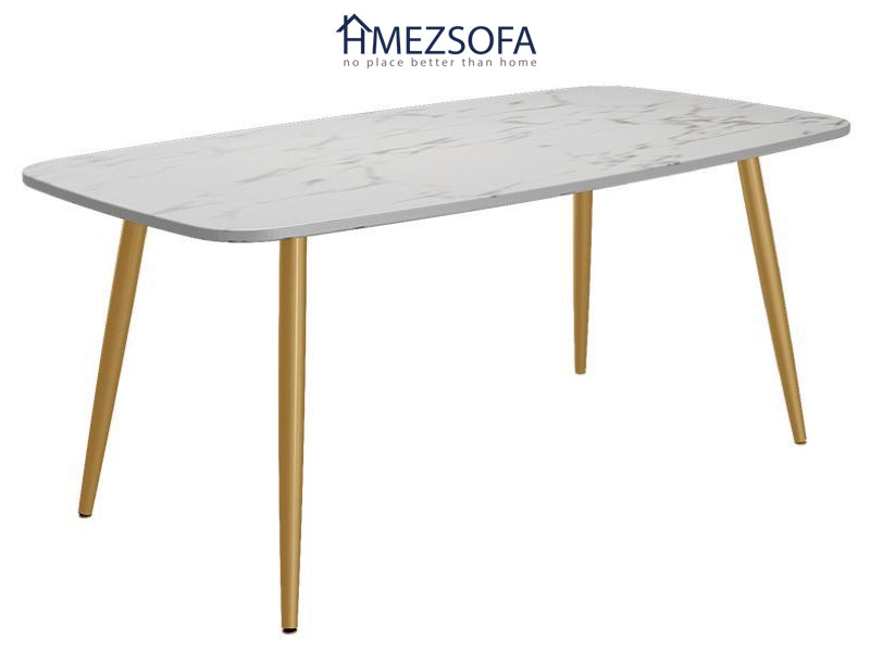 4-Legged Marble Dining Table