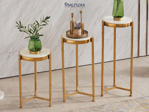 Eileen Glass Side Table