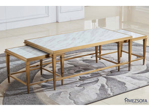 Pixie Marble Coffee Table