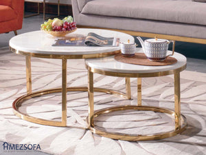 Ronalds Coffee Table (One Pair)