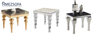 Mike Marble Side Table
