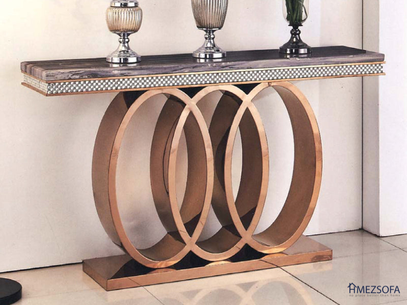 Valerie Marble Side Table