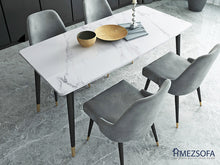 Fyra Marble Dining Table