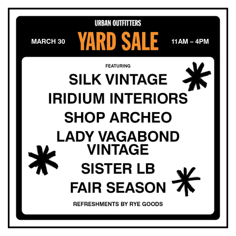 UO Yard Sale
