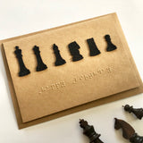 Chess Braille Birthday card