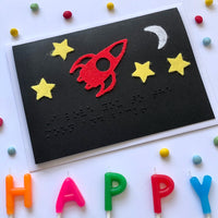 Space Braille card