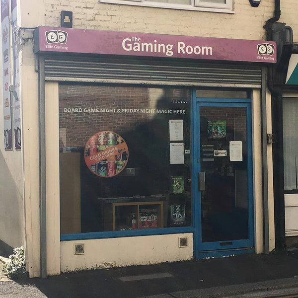 Image showing the front of the Elite Gaming Store in Dover