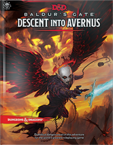 D&D Buldur's Gate Descent Into Avernus