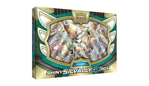 Pokemon Shiny Silvally GX Box