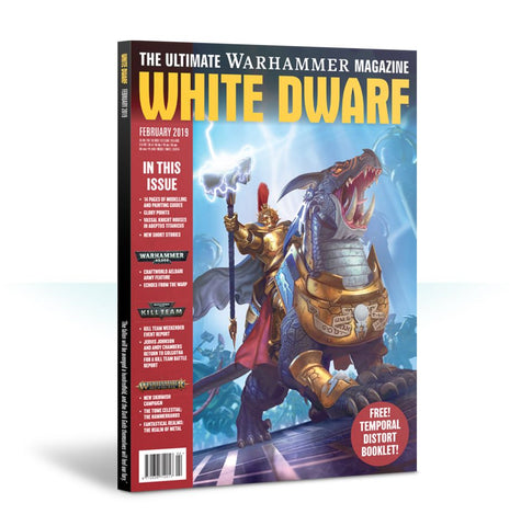 White Dwarf February 2019 (plus free Temporal Distort booklet)
