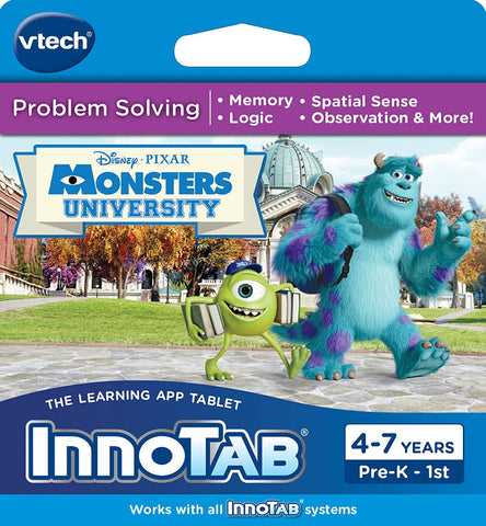InnoTab Problem Solving: Monsters University