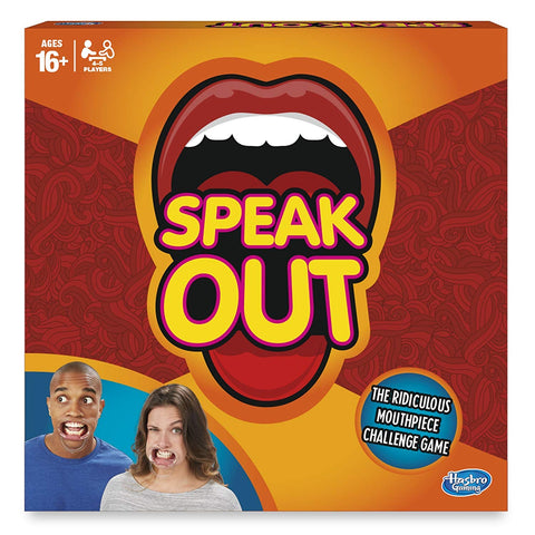Speak Out - The Ridiculous Mouthpiece Challenge Game