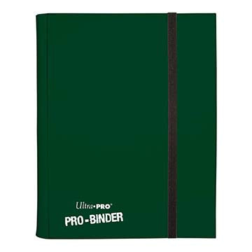 Ultra Pro: Binder Dark Green