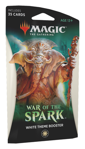 War of the Spark Theme Booster (White)