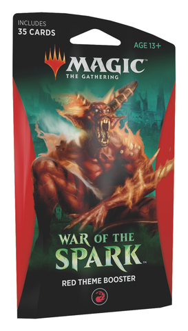 War of the Spark Theme Booster (Red)