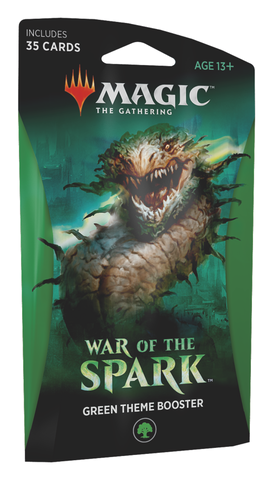 War of the Spark Theme Booster (Green)